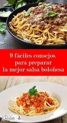 9 fáciles consejos para preparar la mejor salsa boloñesa que hayas probado