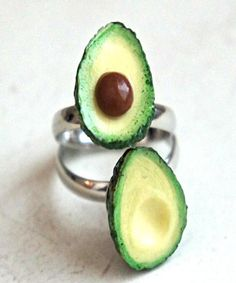 Avocado Friendship Rings - Jillicious charms and accessories - 1