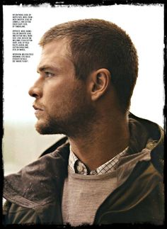 Chris Hemsworth. So hope he's still on for Robopacalypse. He's perfect for it!