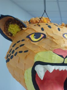 Pinata / Big Cat / MTO by PaperPrimate on Etsy