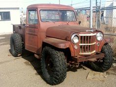 Streetwalking Willys Jeep Pickup