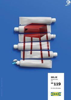 It's that affordable – Nightstand / Ikea Furniture Colourful Stamps Poster Advertising Campaign / Award-winning Outdoor Advertising / D&AD Patio Furniture Redo, Furniture Ads, Furniture Makeover, Office Furniture, Girls Furniture, Barbie Furniture, Refurbished Furniture, Furniture Online, White Furniture