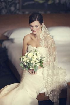Vera Wang wedding dress elegance...