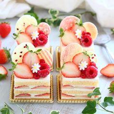 Fancy Desserts, Delicious Desserts, Dessert Recipes, Yummy Food, Mini Cakes, Cupcake Cakes, Cute Baking, Bolo Cake, Beautiful Desserts