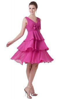 Dramatic v-neck knee length sleeveless fuchsia evening dress TY026 (24, fuchsia) Lemandy http://www.amazon.co.uk/dp/B00HZA4AHW/ref=cm_sw_r_pi_dp_Yqliwb1VJD7RD