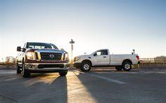 Download wallpapers Nissan Titan Single Cab, 2017, pickup, new cars, Japanese pickup trucks, Nissan