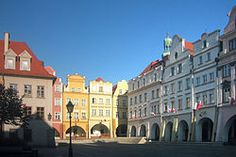 Market Square in Jelenia Góra, Poland my birthplace