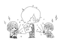 Idola, Karasuma and  Mamoru