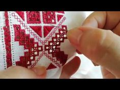 Пряма лиштва - YouTube Afghan Clothes, Drawn Thread, Beaded Crafts, Brazilian Embroidery, Russian Fashion, Pattern Drafting, Hand Embroidery, Cross Stitch Patterns, Needlework