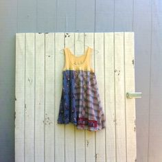 ladies summer crawfish new orleans Dress Recycled by CreoleSha