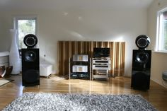 Overkill The Finale loudspeakers, End Game and Conductur preamp/dac 1/2