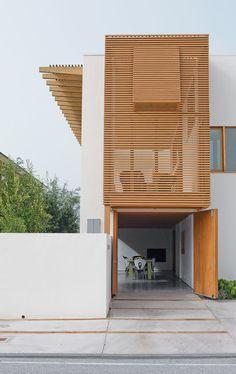 7 Modern Wooden Louver Facades