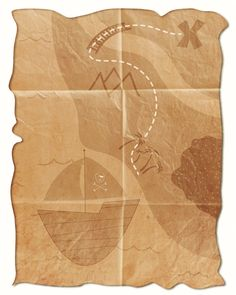 Free Pirate Map Printable- Snickerplum