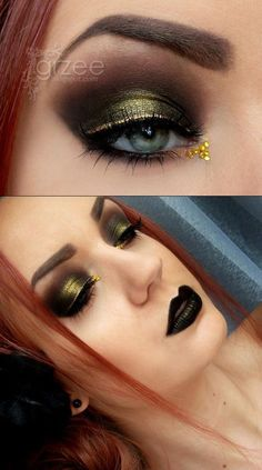 I need some good black lipstick!