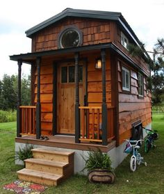 Check out how these 10 Families Live in Tiny Homes - No way I could ever live in this small of a house with my family but it's definitely an inspiration for simplifying my life.