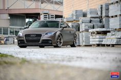Audi TT - Vossen x Work VWS-3 - Polished Aniodized Barrel - Gloss gold Center - © Vossen Wheels 2016 - 1017