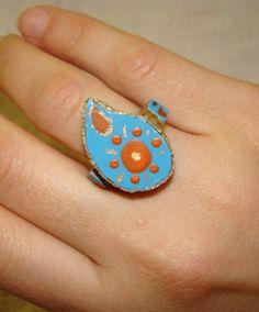 Mosaic Ring  By Neda AJ