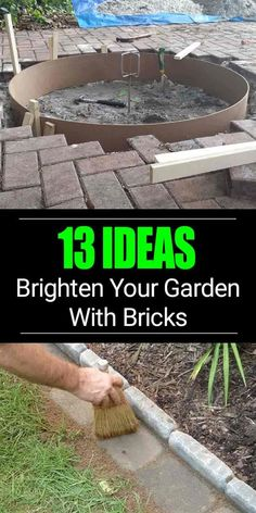 diy-garden-projects ⋆ The DIY Farmer Landscaping Supplies, Front Yard Landscaping, Landscaping Ideas, Landscaping Software, Backyard Projects, Garden Projects, Brick Projects, Diy Projects, Container Gardening