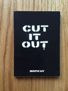Cut it out - Banksy,   Weapons of Mass Distraction, First (only) impression of this softcover small format paperback from 2004 self published by Banksy, in fine condition, please see pics, no markings,any questions please get in touch.