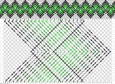 Muster # 62879, Streicher: 58 Zeilen: 32 Farben: 5