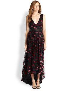 Alice + Olivia - Kasia Hi-Lo Maxi Dress - Saks.com