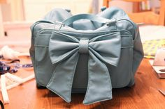 Blue. Lace. House: Make Your Own Camera Bag!