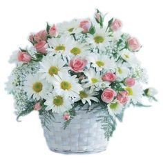 Pure Blooms Flower Basket to Saint-Vincent-and-the-Grenadines Flowers For Sale, Send Flowers, Fresh Flowers, Blue Flowers, Wedding Flowers, Pretty Flowers, Pink Roses, Online Florist, Local Florist