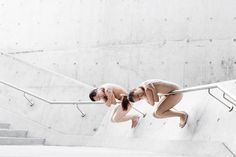 Contemporary Dancers Lemon Ting-Fung Too and Tonia Wan at Innovation Tower in Hong Kong. Site Specific Dance Photography by Gareth Brown Figure Drawing Reference, Croydon, Dance Photography, Bodies, Innovation, Tower, Ballet, Photoshoot, Dancers