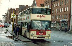 Doppeldeckerbus Lübeck 1980'erne