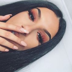 If you want to enhance your eyes and improve your good looks, finding the best eye makeup ideas can help. You need to be sure to wear make-up that makes you look even more beautiful than you are already. Glam Makeup, Flawless Makeup, Cute Makeup, Gorgeous Makeup, Pretty Makeup, Skin Makeup, Eyeshadow Makeup, Beauty Makeup, Simple Makeup