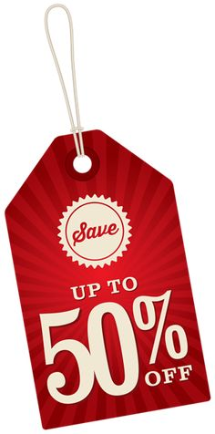 Save Up To 50% Off Label PNG Clipart Image