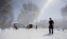collectif de la meute + raumlabor create nomadic inflatable architecture