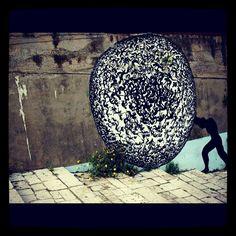Graffiti. Campofelice, Sicily, Italy.