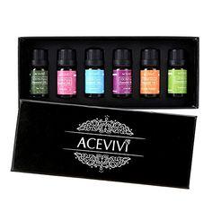 ACEVIVI 100% Pure Therapeutic Grade Basic Aromatherapy Sampler Essential Oil Gift Set- 6/10 ml (Lavender, Peppermint, Sweet Orange, TeaTree, Eucalyptus, Rosemary ) ACEVIVI http://www.amazon.com/dp/B00XPIZUVS/ref=cm_sw_r_pi_dp_6Dd1vb0AWMBM2
