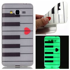 For Samsung Galaxy Grand Prime Case G530 G531 G531H Ultra Thin Luminous Embossed Slim Soft Silicone Phone Case Skin TPU Cover (<