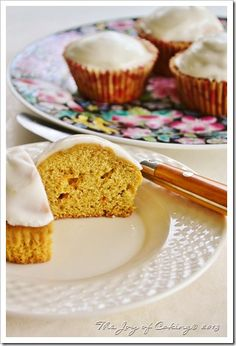 Frosted Carrot Muffins