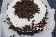 Black forest cake is the most popular cake in Bangladesh. But with availability of ingredients and taste bud of Bangladeshi people Bangladeshi Black Forest… Black Forest Cake, Cream Recipes, Taste Buds, Recipies, Deserts, Cherry, Cooking Recipes, Indian, Popular