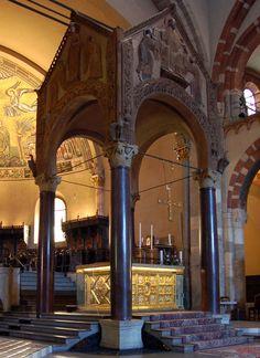 Basilica di Sant'Ambrogio: l'altare di Volvinio