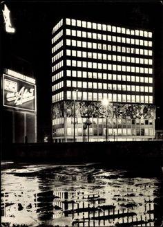 Postkarte Berlin, Ansicht Haus des Lehrers am Alexanderplatz, gelaufen 1970