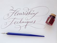 Calligraphy – Flourishing Techniques Flourishes and embellishments can give calligraphic writing further elegance and festiveness. Today I'll tell you how to create flourishes and what things…