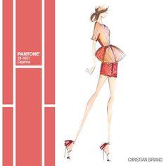 #Cayenne #Pantone