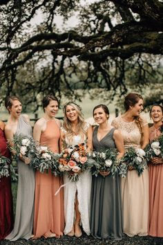 Tips for chic, modern bridesmaids with individual style