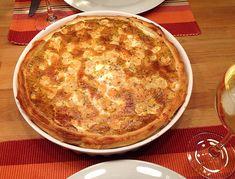 Lachs - Quiche a  la Koelkast, ein gutes Rezept aus der Kategorie Snacks und kleine Gerichte. Bewertungen: 64. Durchschnitt: Ø 4,6.