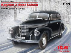 Kapitän 2-door Saloon, WWII German Staff Car