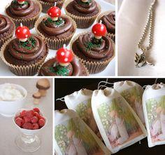 stephmodo: Woodland Fairy Party - adore these fairy burlap bags!