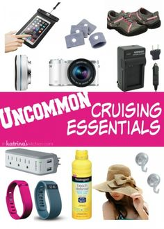 Read this before your cruise! Cruising tips and tricks including lots of uncommon cruising essentials that are pretty unique to this list.