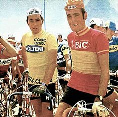 Eddy Merckx and Luis Ocaña