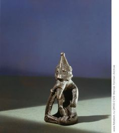 Frey god of fertility. Country of Origin: Sweden Culture: Viking. Date/Period: 11th C. Material Size: bronze. Credit Line: Werner Forman Archive/ Statens Historiska Museum, Stockholm . Location: 18.