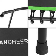 Elecmall Fitness Trampoline Bungee-Rope-System with Adjustable Handlebar - Walmart.com - Walmart.com