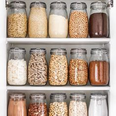 My Zero-Waste Pantry . So as many of you know Ive been trying to make a bigger e… My Zero-Waste Pantry . So as many of you know Ive been trying to make a bigger effort to try minimise and/or eliminate waste in my home & the easiest place for me to do this Kitchen Organization Pantry, Home Organisation, Organization Hacks, Kitchen Storage, Organized Kitchen, Pantry Storage, Refrigerator Organization, Pantry Ideas, Storage Room